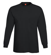 Custom Adult Hanes ComfortSoft® Heavyweight Long Sleeve T-Shirt Mens