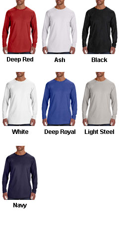 Hanes 4.5 oz. Ringspun Cotton Nano-T® Long-Sleeve T-Shirt - All Colors