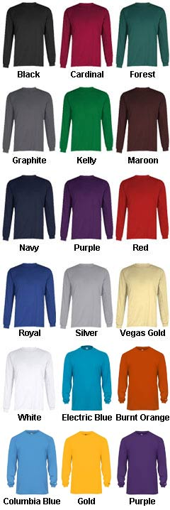 Badger Youth Core Long Sleeve Performance T-shirt - All Colors