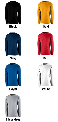 APEX Adult Long Sleeve Crew Neck T-shirt - All Colors