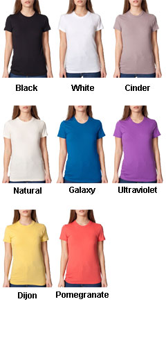 American Apparel Juniors Organic Fine Jersey T-Shirt - All Colors