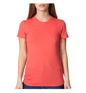 Custom American Apparel Juniors Organic Fine Jersey T-Shirt