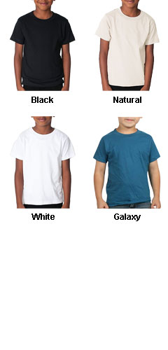 American Apparel Organic Kids Fine Jersey T-Shirt - All Colors