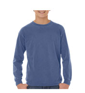Youth Pigment Dyed 6.1 oz. Long Sleeve Tshirt