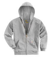 Carhartt Mens Midweight Hooded Zip-Front Sweatshirt