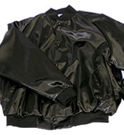 Custom Adult Mens Pro-Satin Baseball Jacket with Flannel-Lining