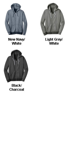 Mens Mini Stripe Full-Zip Hoodie - All Colors
