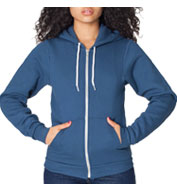 American Apparel Unisex Flex Fleece Full-Zip Hoodie