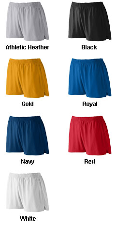 Ladies Junior Fit Trim Fit Jersey Short - All Colors
