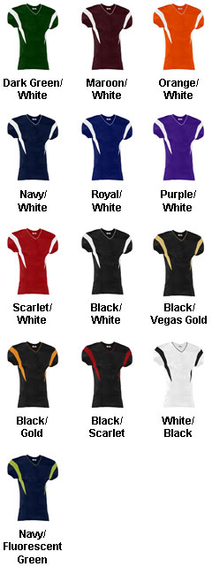 Teamwork Adult Double Coverage Football Jersey - All Colors