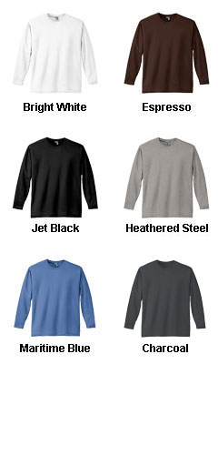 District Made� Mens Perfect Weight Long Sleeve Tee   - All Colors