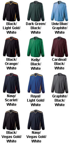 Adult Acclaim Water-Resistant Windshirt by Holloway USA - All Colors