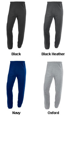 Dri-Power Closed-Bottom Fleece Pant by Russell Athletic - All Colors