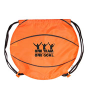 Basketball Drawstring Pack
