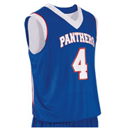 Teamwork Adult Finger Roll Reversible Basketball Jersey