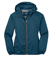 Custom Eddie Bauer® Ladies Packable Wind Jacket