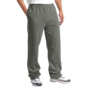 Custom Adult Open Bottom Sweatpant Mens