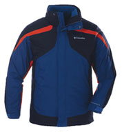 Custom Columbia Eager Air 3-in-1 Jacket Mens