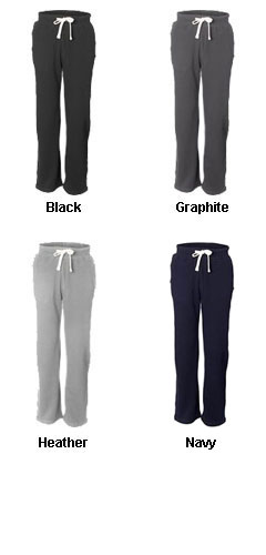 Weatherproof Cross Weave Open Bottom Sweatpants - All Colors