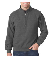 Adult HeavyBlend™ Vintage 1/4 Zip Cadet Collar Sweatshirt