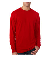 Jerzees Long Sleeve 5.3 oz. Spun Polyester Crewneck T-Shirt