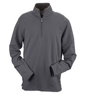 Mens Ashworth French Terry Half-Zip Pullover