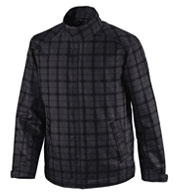 Locale Mens Lightweight City Plaid Jacket