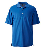 Ashworth Mens Performance Texture Polo
