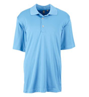 Ashworth Mens Performance Interlock Solid Polo