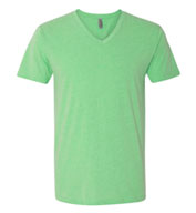 Next Level Mens CVC V-Neck Tee