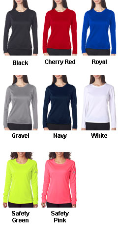 New Balance Ladies Tempo Long-Sleeve Performance T-Shirt - All Colors