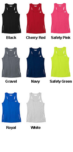 New Balance Ladies Tempo Running Singlet - All Colors