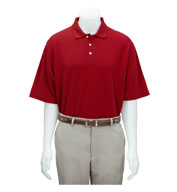 Greg Norman Adult Easy-Care Pique Polo