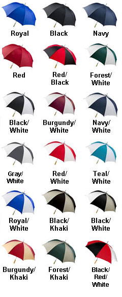 PRO-AM Golf Umbrella - All Colors
