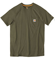 Custom Force™ Cotton Short Sleeve T-Shirt from Carhartt Mens