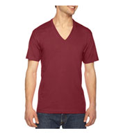 American Apparel Fine Jersey Short Sleeve-V-Neck Tee