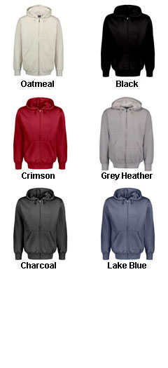Classic Fleece Full Zip Hooded Sweatshirt - All Colors