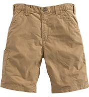 Custom Carhartt Canvas Work Short Mens