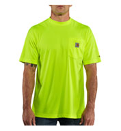 Mens Force™ Color Enhanced HI Visibility Short Sleeve T-shirt from Carhartt
