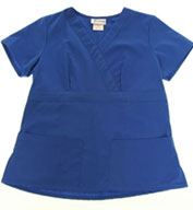 Shapper Fitted Two Pocket Scrub Top by Spectrum Uniforms
