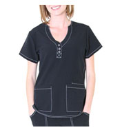 Custom Fashion Y-Neck Top by Spectrum Uniforms