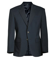 Mens Single-Breasted Polyester Blazer