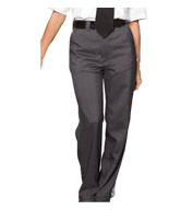 Ladies Flat Front Security Pant
