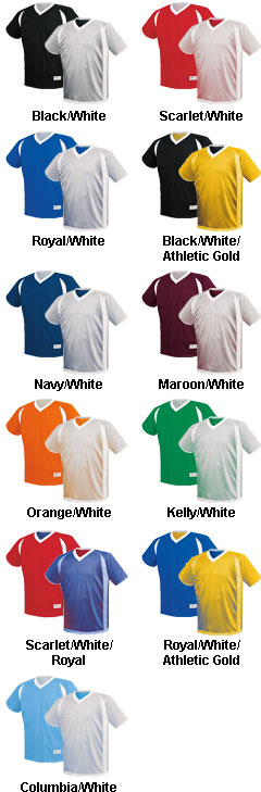 Youth Dynamic Reversible Performance Jersey - All Colors
