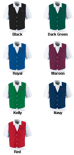 Professional Vest Apron - All Colors