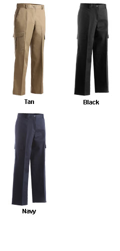 Ladies  Flat Front Cargo Pant - All Colors