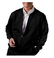 Full Zip Cardigan With Two Pockets