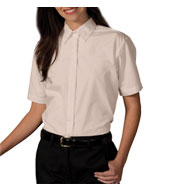 Womens Cafe Short Sleeve Shirt