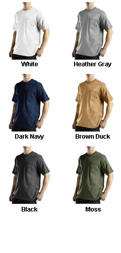 Dickies Mens Moisture Wicking Short Sleeve Pocket T-Shirt  - All Colors