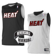 Team NBA Miami Heat Adult Reversible Jersey